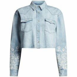 All Saints Flora Cannon Denim Shirt