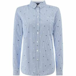 Crew Clothing Company Lulworth Poplin Shirt