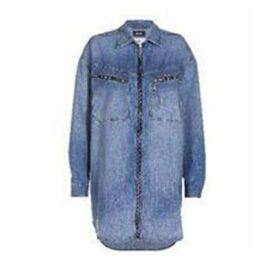 Diesel De Eufrasia Denim Shirt Dress