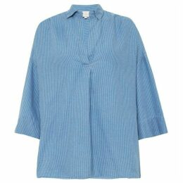 French Connection Julienne Stripe Pop Over Shirt