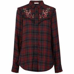 Oasis Embroidered Check Shirt