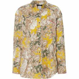 Max Mara Weekend Polder floral shirt