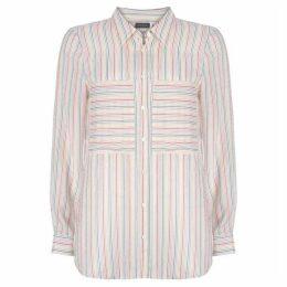 Mint Velvet Rainbow Stripe Shirt