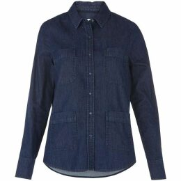 Whistles Double Pocket Denim Shirt
