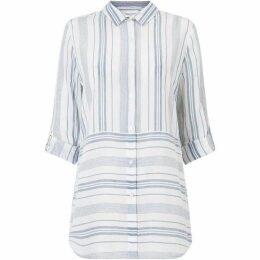 Phase Eight Adela Yarn Dye Stripe Shirt