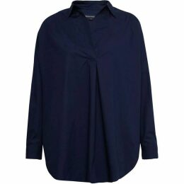 French Connection Rhodes Poplin Pop Over Shirt
