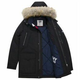 Tommy Hilfiger Tommy Jeans Faux Fur Hooded Parka
