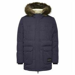 Calvin Klein Jeans CK Jeans Faux Fur Hooded Parka Coat