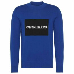 Calvin Klein Jeans Ckjeans Box Logo Sweater