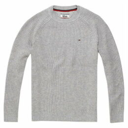 Tommy Jeans Rib Crew Neck Sweater