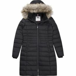Tommy Jeans Hooded Long Coat