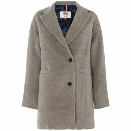 Tommy Jeans Padded Wool Coat