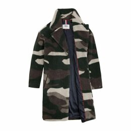 Tommy Jeans Camo Coat