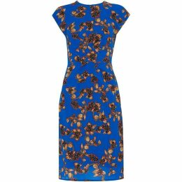 Whistles Capri Print Silk Bodycon