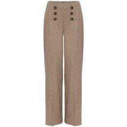 Phase Eight Beatrix Heritage Check Wide Leg Trouser