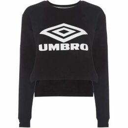 Umbro Cropped logo sweatshirt