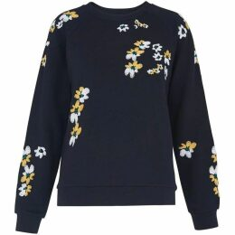 Whistles Lottie Floral Sweatshirt