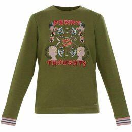 Ted Baker Cathy Penny Slogan Sweatshirt