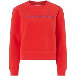Calvin Klein Jeans Institutional Fleece Sweatshirt