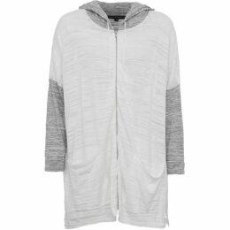 French Connection Klint Stitch Knit Hooded Sweatshirt