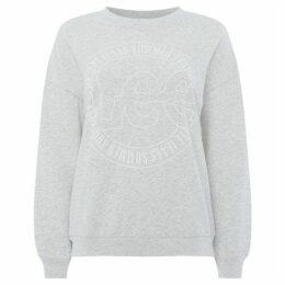 Lee Jeans Crew Neck Logo Print Sweatshirt
