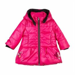 Catimini Pearly Peony Pink Coated Parka