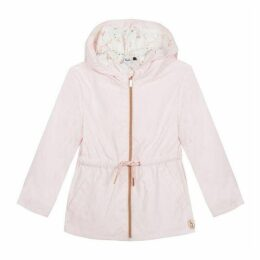 3 Pommes Baby Girl Salmon Pink Parka