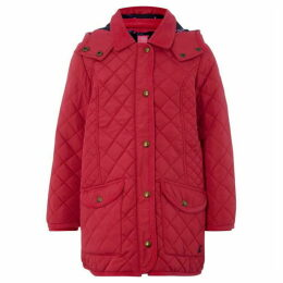 Little Joule Newdale Quilted Jacket With Hood