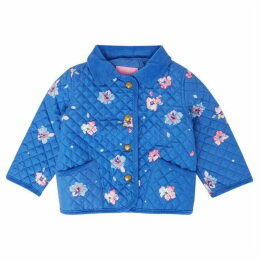 Little Joule Baby Girl Mabel Quilted Floral Jacket