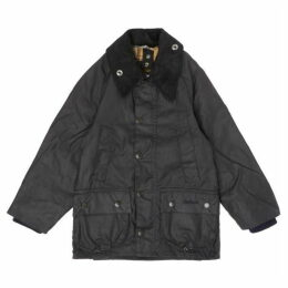 Barbour Lifestyle Classic Bedale Cord Collar Classic Wax Jacket