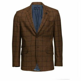 Raging Bull Window Pane Check Blazer