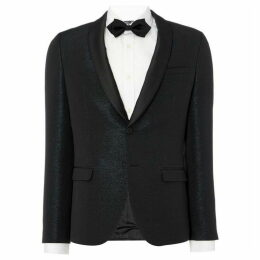 Hugo Arti Extra Slim Metallic Evening Blazer