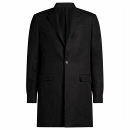 All Saints Hirst Linen Blend Coat