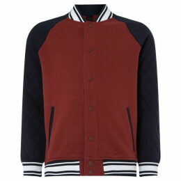 Armani Exchange Varsity Logo Back Jacket