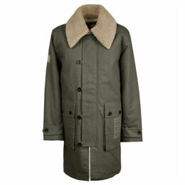 Pretty Green Borg Lined Coat