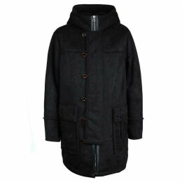Pretty Green Faux Shearling Coat