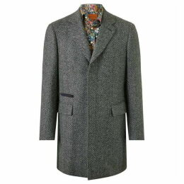 Simon Carter Heavy Herringbone Coat