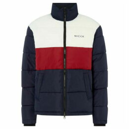 Nicce Block Coloured Padded Jacket