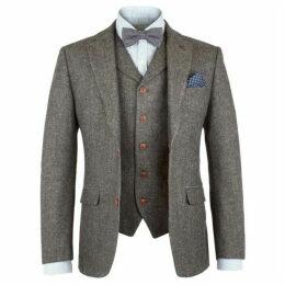 Gibson Grey Herringbone Jacket