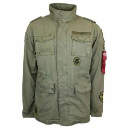 Alpha Industries Huntington Field Jacket With Patches
