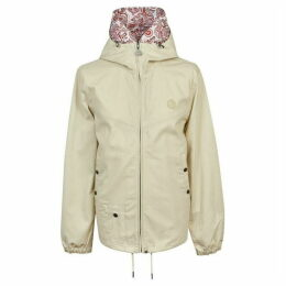 Pretty Green Cotton Zip Up Hooded Jacket