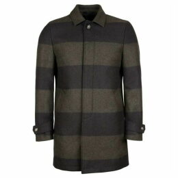 Eden Park Wool Striped Coat