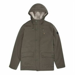 Farah Fleece Lined Hooded Parka