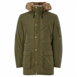 Jack and Jones Latte Parka Jacket