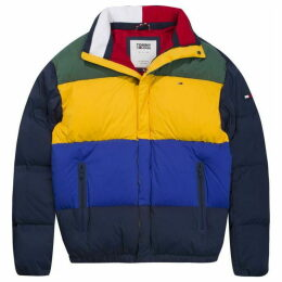Tommy Hilfiger Tommy Jeans Colourblock Puffer Jacket