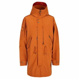 Pretty Green Zip Through Hooded Parka