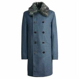 Pretty Green Double Breasted Trench Coat