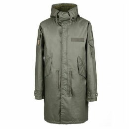 Pretty Green Detachable Hood Parka