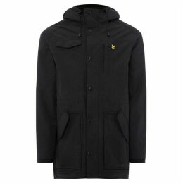 Lyle and Scott Microfleece Lined Parka