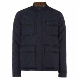 Jack and Jones Stone Quilted Jacket